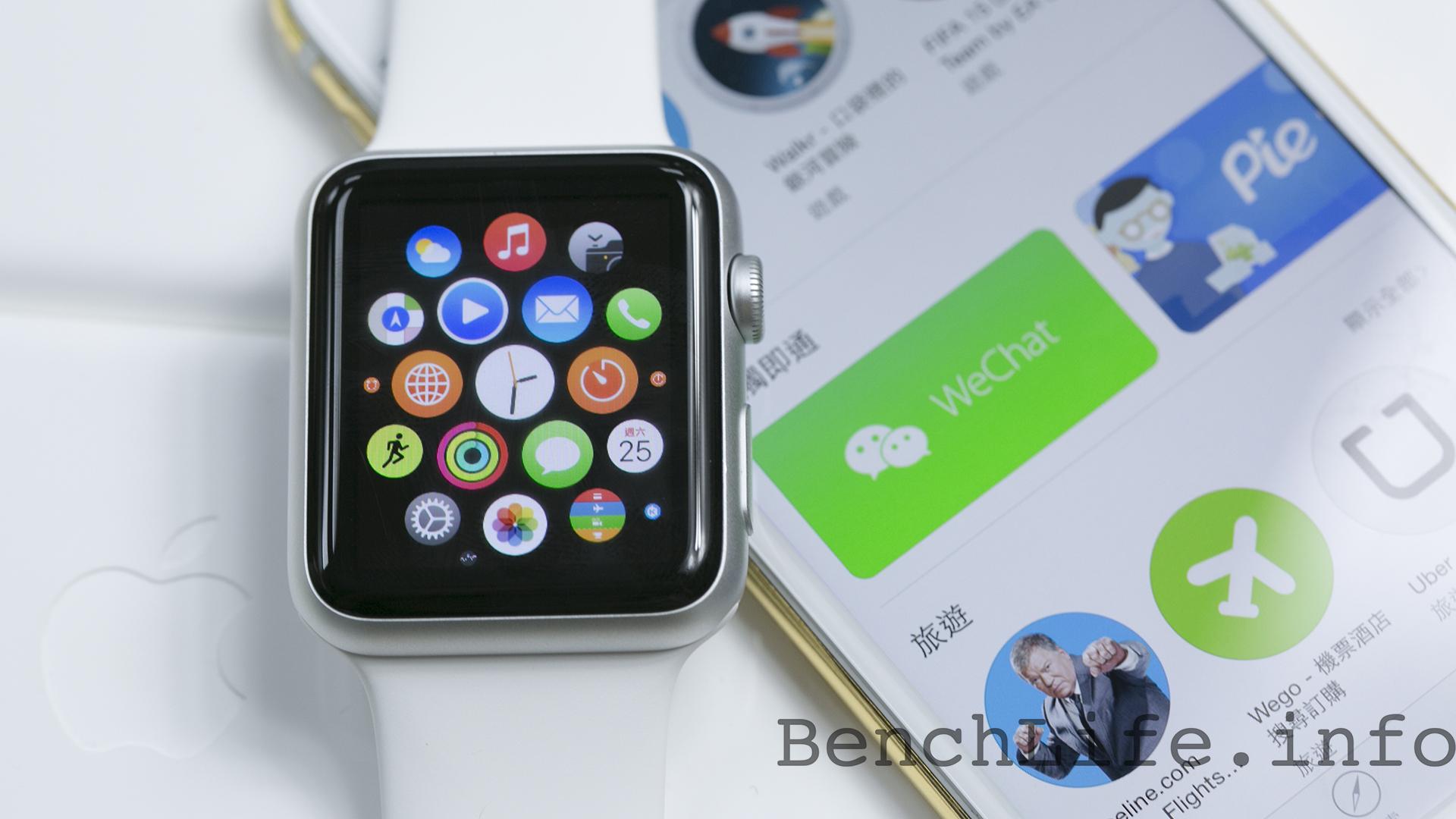 38mm 與 42mm 齊入手,Apple Watch Sport 版本開箱動手玩
