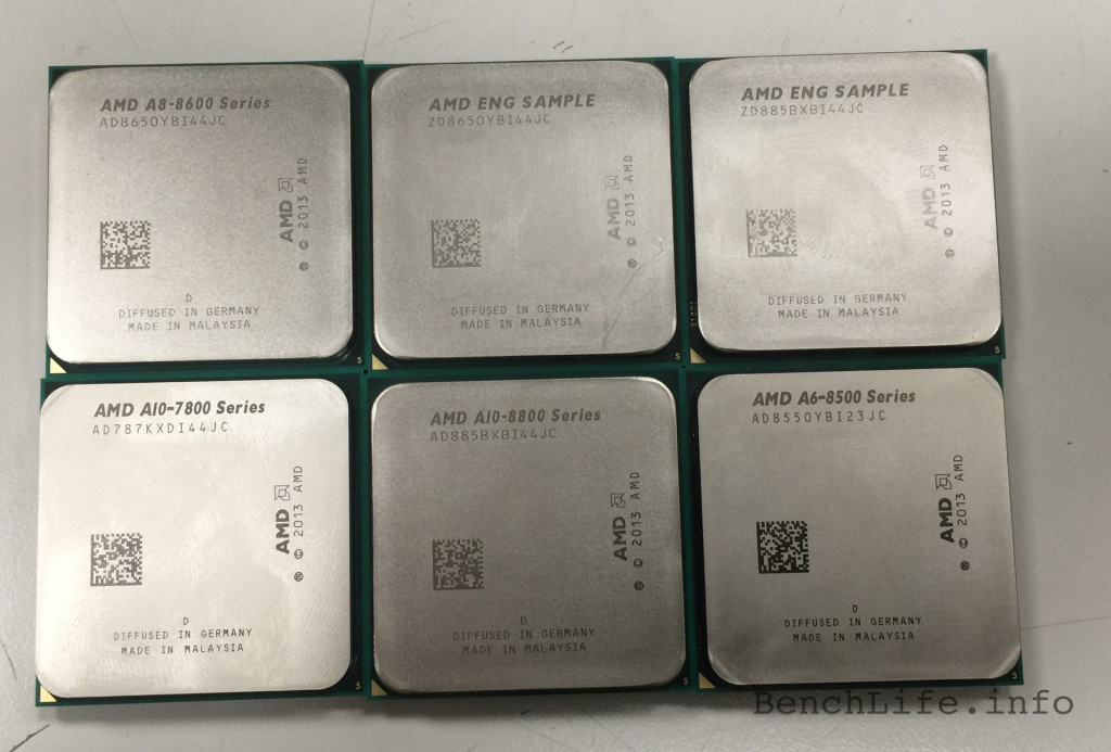 AMD Godavari cpus