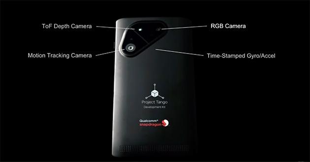 與 Qualcomm 合作,Project Tango 智慧型手機第三季登場
