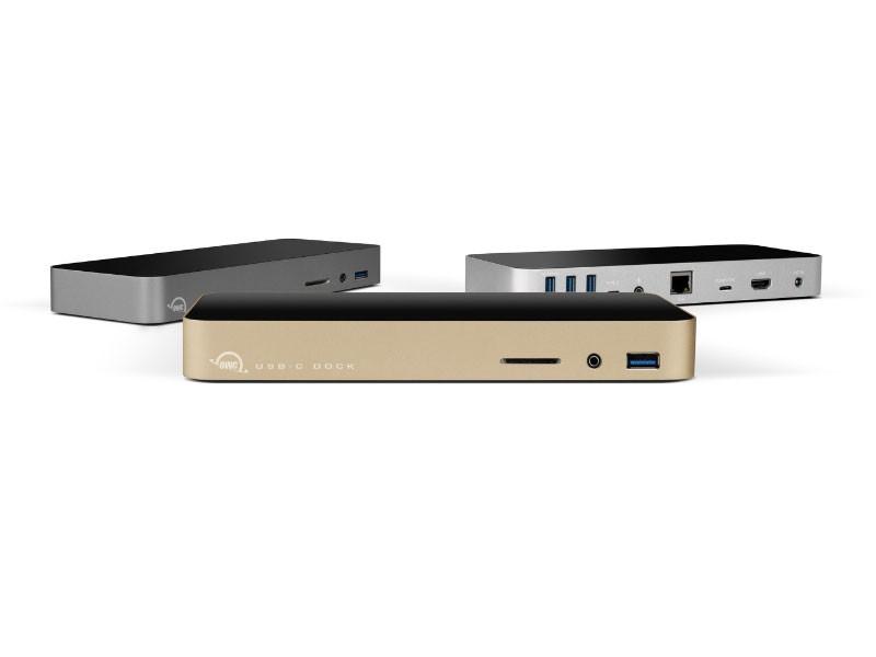 PC 與 MacBook 都能用,OWC 推出 USB-C Dock
