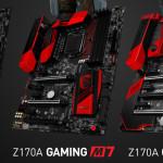 不能輸在起跑點,MSI Z170A Gaming M5 與 Gaming M7 上架開賣