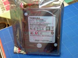 單碟片 750GB,Toshiba 2.5 吋 3TB 硬碟在日上架
