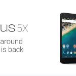 Google Nexus 5X:六核心處理器、2GB 記憶體與 12.3MP 主鏡頭