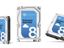 三產品線添加新容量,Seagate 8TB 硬碟選擇更多元