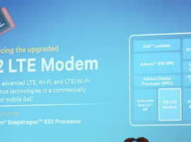 高度差異化功能,Qualcomm Snapdragon 820 內建 X12 LTE Modem