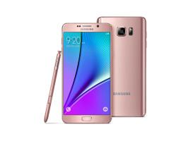 鈦銀與玫瑰金,Samsung GALAXY Note 5 新色系登場