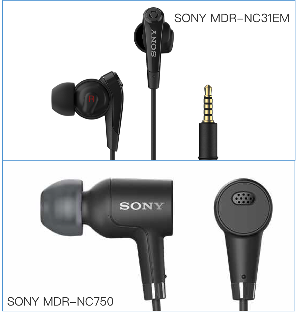 SONY 2 headsets