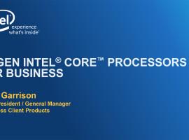 Intel 第 6 代 Core vPro:Intel Unite、Intel Autenticate 與 SBA 強化