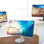1,800R 和 VA 面板,Samsung CF591、CF390 與 CF391 曲面螢幕登台