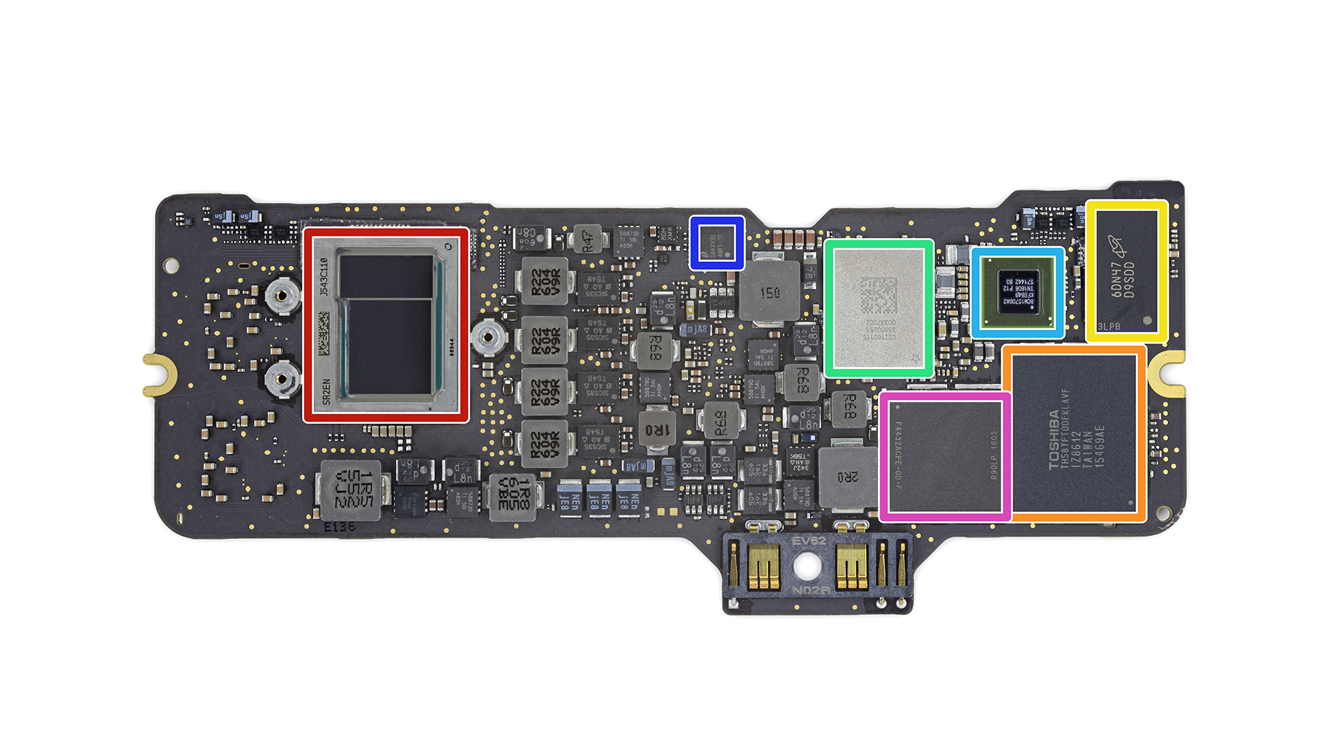 MacBook skylake pcb_1