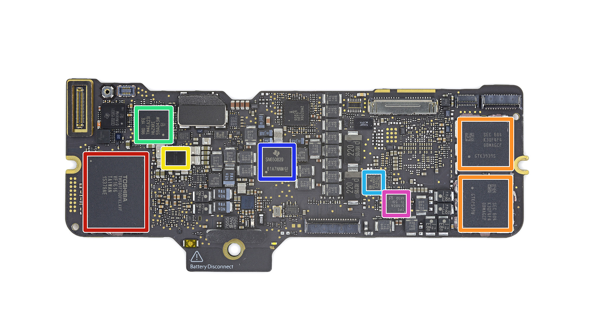 MacBook skylake pcb_2