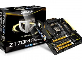 2 根記憶體插槽,ASRock Z170M OC Formula 登場