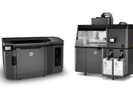 回應商用市場,HP Jet Fusion 3D Printing 解決方案推出