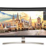 IPS 面板與 144Hz 更新頻率,LG 公佈兩款曲面螢幕
