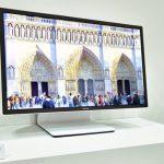 120Hz 更新頻率,Sharp 展出 8K 解析度的 27 吋 IGZO 螢幕