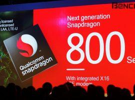 下載速度可達 1Gbps,新一代 Qualcomm Snapdragon 800 系列將搭配 X16 LTE Modem