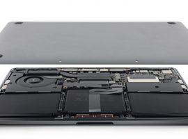 「M.2」PCIe SSD 形狀很不一樣,MacBook Pro 13 Late 2016 拆解完成