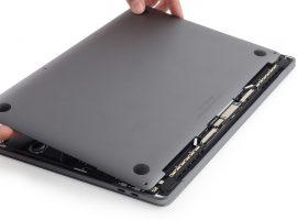 電池容量較小,MacBook Pro Late 2016 with Touch Bar 拆解完成