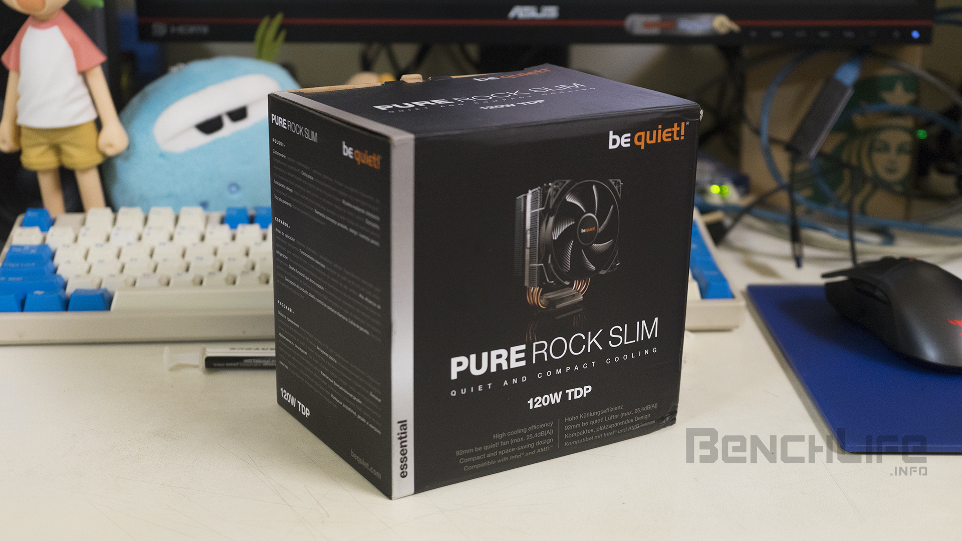 be quiet! Pure Rock Slim 簡測