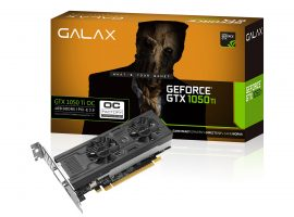 Galax 為 GeForce GTX 1050 系列推出 Low Profile 版