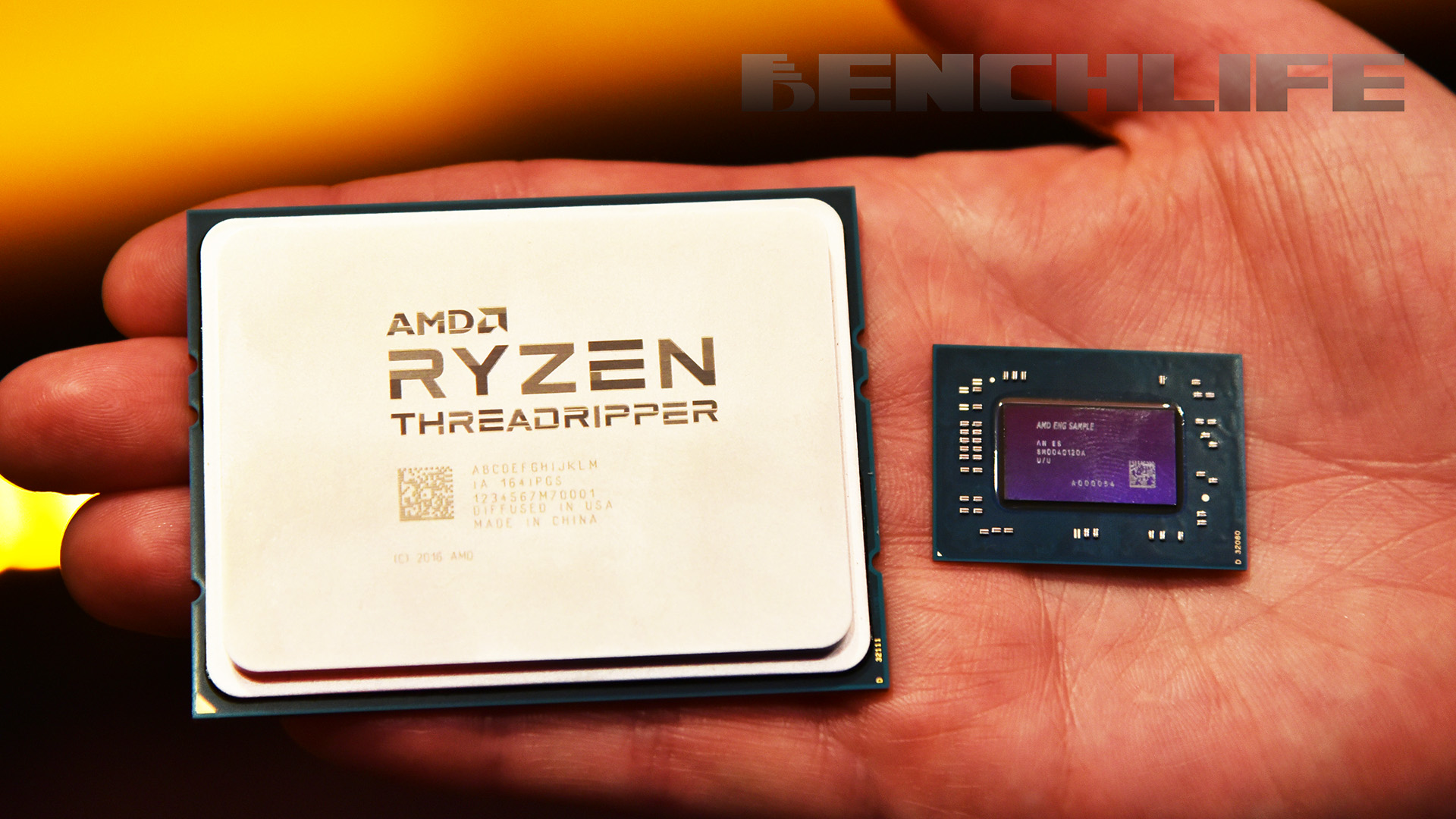 AMD Ryzen Threadripper 和 EPYC 並非同根生,開核念頭無望