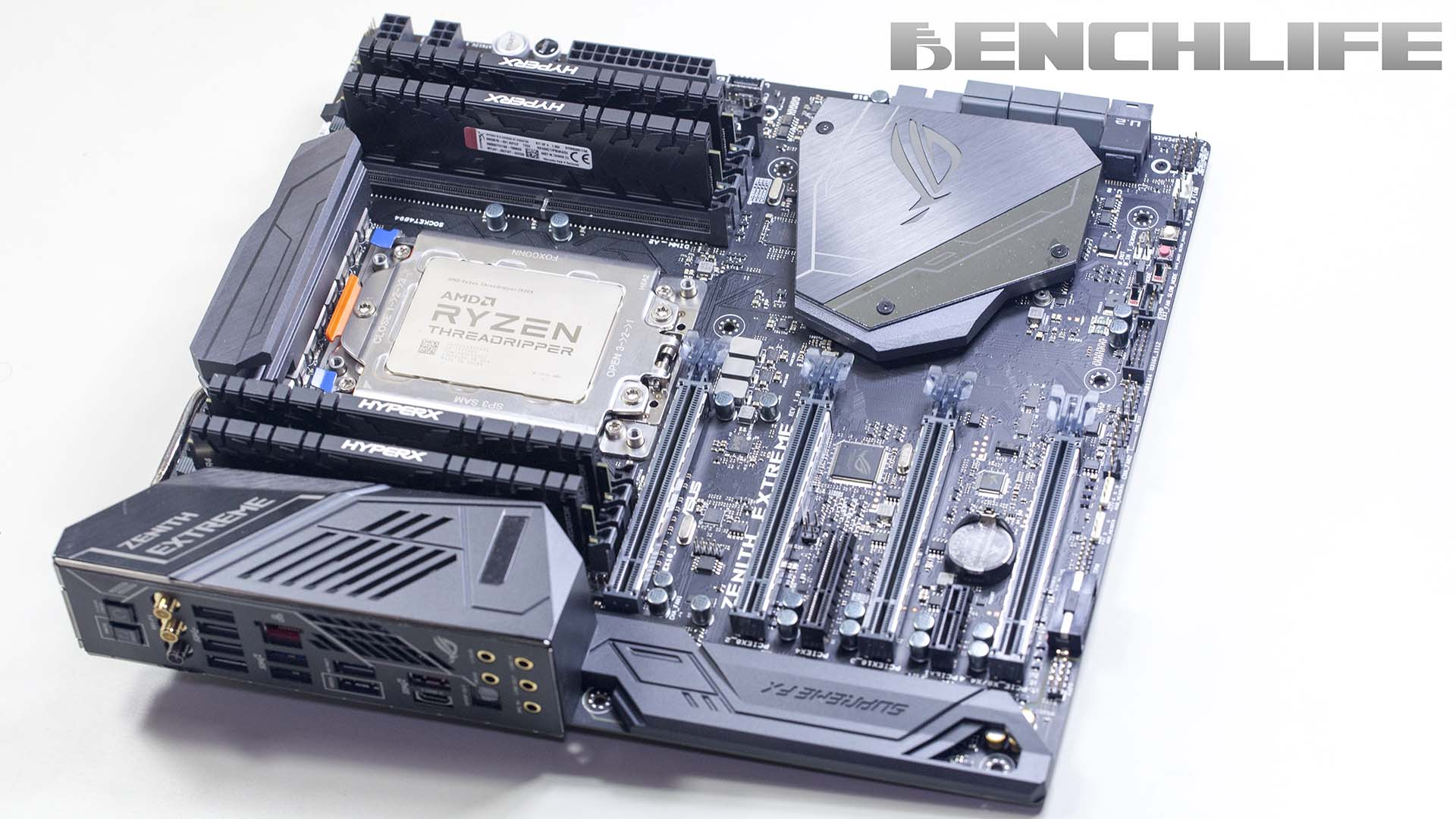 搭配 ASUS ROG Zenith Extreme 主機板,AMD Ryzen Threadripper 1920X 實測