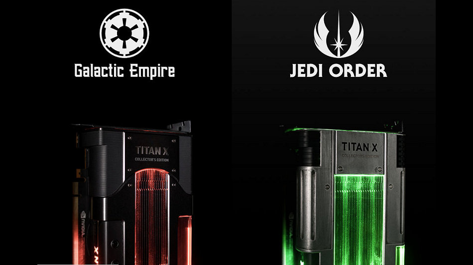 原來是 Star Wars 聯名,NVIDIA Titan Xp Collector's Edition 亮相