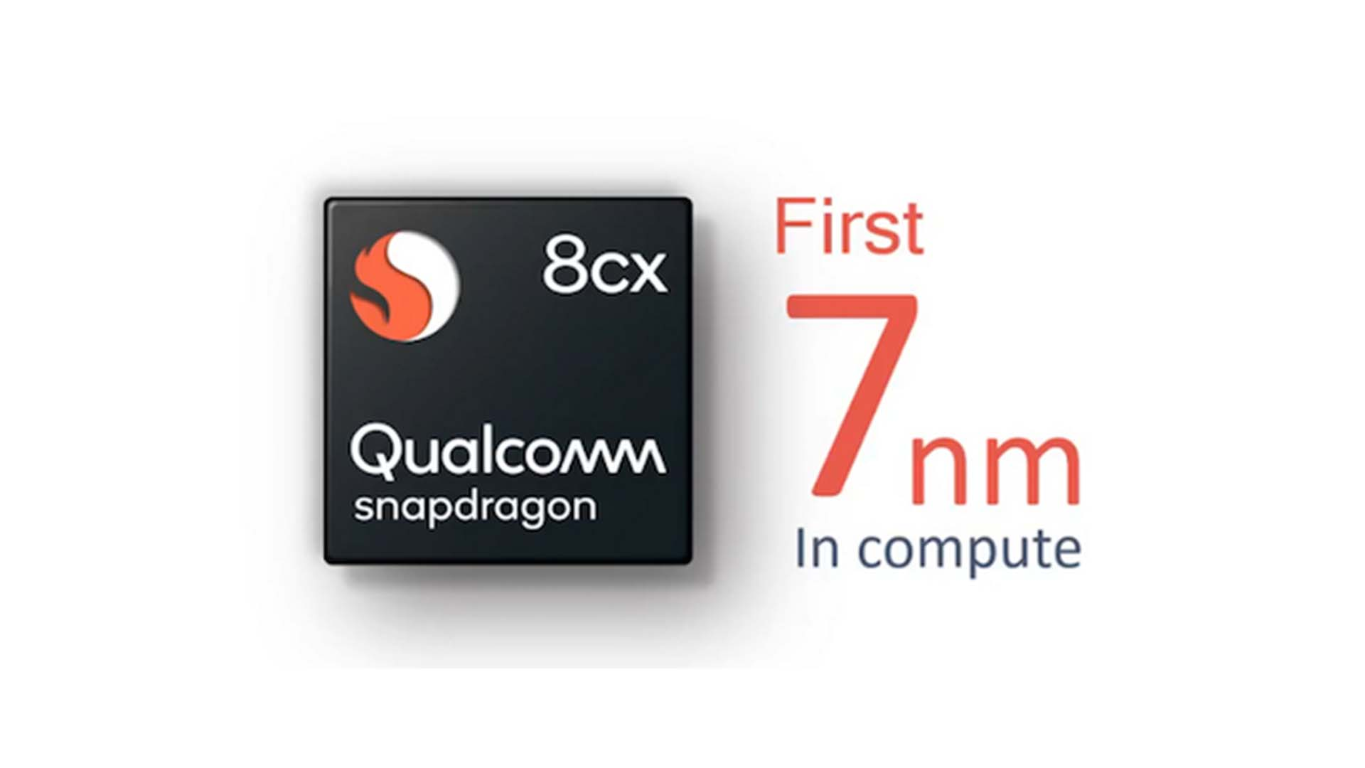 支援 Windows 10 Enterprise 是亮點,Qualcomm Snapdragon 8cx 採用 7nm 製程