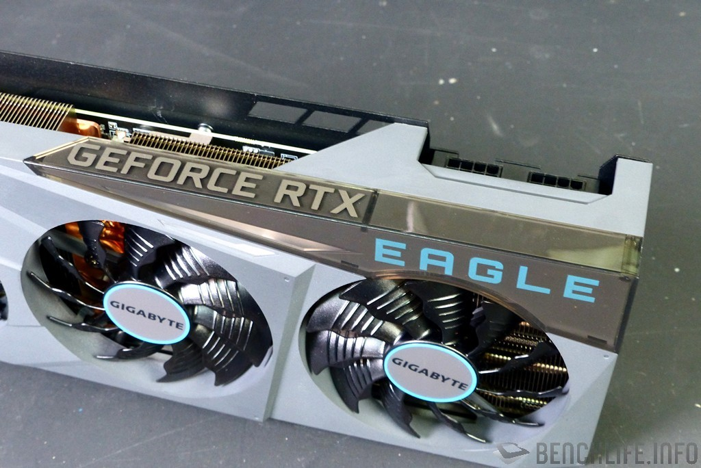 GIGABYTE GeForce RTX 3080 EAGLE OC 10G RGB gray