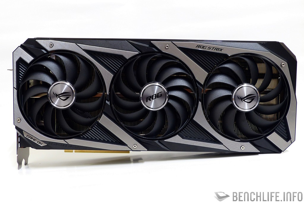 ASUS ROG Strix GeForce RTX 3070 O8G Gaming front