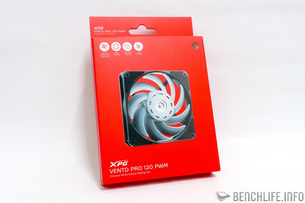 ADATA XPG VENTO PRO 120 PWM package front