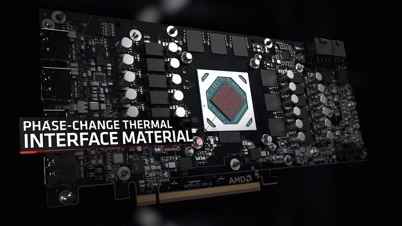 AMD Radeon RX 6700 XT 11 power phase and phase-change material