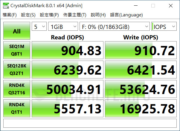Seagate One Touch SSD - Benchmark (6)