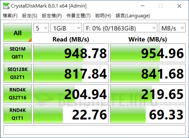 Seagate One Touch SSD - Benchmark (7)